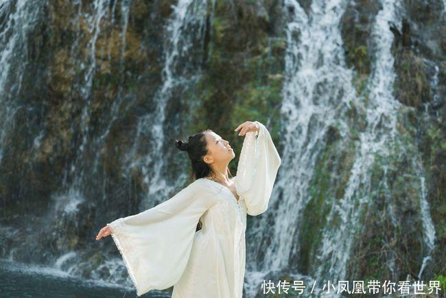 太行山脈有一處婉約江南的秘境,此地泉水潺潺,懸空瀑布經年不歇