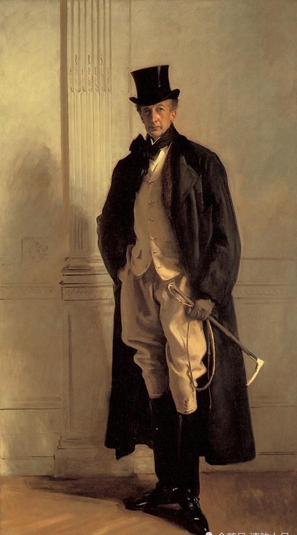 美国画家,约翰·辛格尓·萨金特,人物肖像油画欣赏